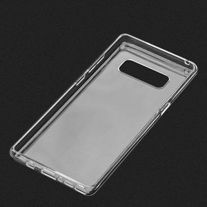 Protective TPU Case - Crystal Clear for Samsung Galaxy Note8 SM-N950U - fommystore