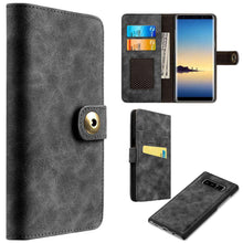Load image into Gallery viewer, Flip Wallet With Card Slot and Detachable Back Case for Galaxy Note8 - fommystore