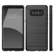 Load image into Gallery viewer, Hybrid Anti Shock Armor Case - Black for Samsung Galaxy Note8 SM-N950U - fommystore