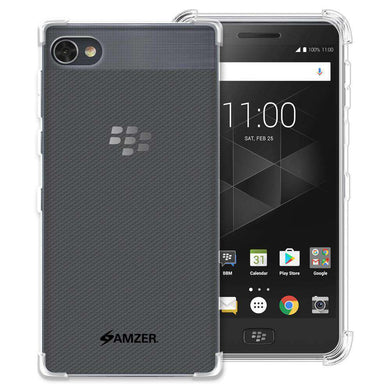 AMZER Pudding TPU Soft Skin X Protection Case for BlackBerry Motion - Clear - fommystore