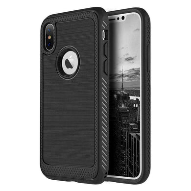 Protective Flexible TPU Case - Black for iPhone X/ iPhone Xs - fommystore