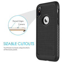 Load image into Gallery viewer, Protective Flexible TPU Case - Black for iPhone X/ iPhone Xs - fommystore