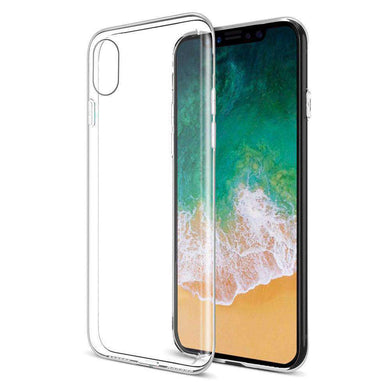 Protective TPU Case - Crystal Clear for iPhone X - fommystore