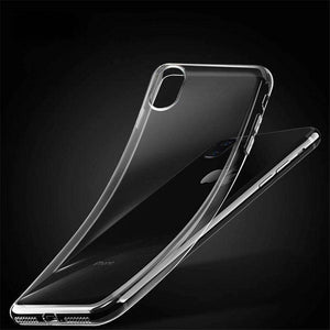 Protective TPU Case - Crystal Clear for iPhone X/ iPhone Xs - fommystore