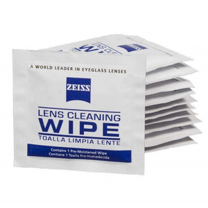 Zeiss Pre-Moistened Lens Cleaning Wipes - Cleans Bacteria, Germs and without Streaks for Eyeglasses and Sunglasses