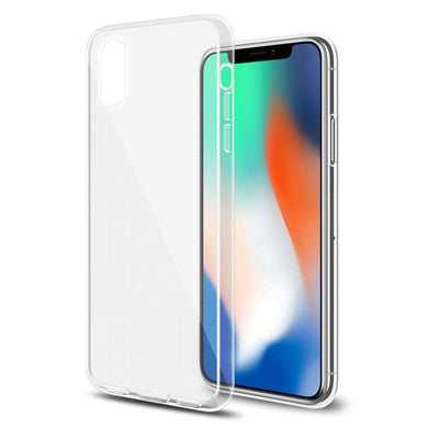 Ultra Thin Premium TPU Cover - Clear for iPhone X - fommystore