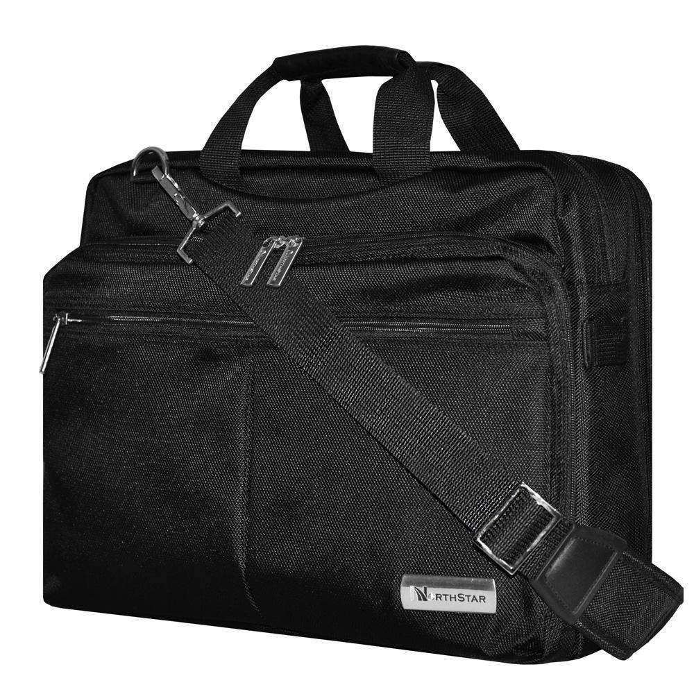 Carry On Laptop Bag with Shoulder Strap - Black - fommystore
