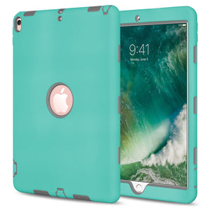 Rugged Shockproof Armor Dual Layer Hybrid Case for Apple iPad Pro 10.5 - fommystore