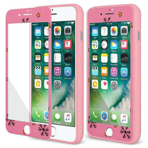 AMZER Full Body Holiday Hybrid Shockproof Cover for iPhone 7 Plus - fommystore