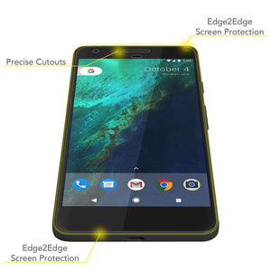 AMZER Edge2Edge Full Coverage Screen Protector for Google Pixel - Clear - fommystore