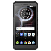 Load image into Gallery viewer, AMZER Shockproof Warrior Hybrid Case for Lenovo K8 Plus - Black/Black - fommystore