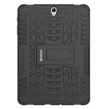 Load image into Gallery viewer, AMZER Warrior Hybrid Case for Samsung Galaxy Tab S3 9.7 - Black/Black - fommystore