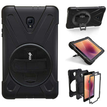 Load image into Gallery viewer, AMZER® TUFFEN Case - Black for Samsung Galaxy Tab A 2017 SM-T385 - fommystore