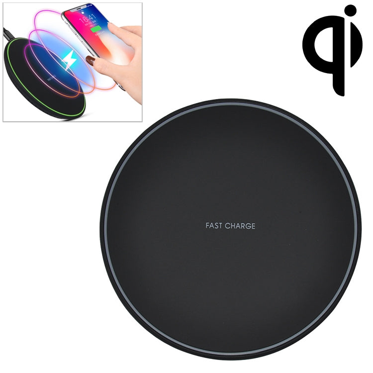Wireless Charging Pad With Anti Slip Rubber