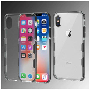 AMZER Hybrid Soft Flexible TPU Case for iPhone X/ iPhone Xs