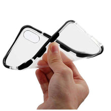Load image into Gallery viewer, AMZER Hybrid Soft Flexible TPU Case - Clear/Black for iPhone X/ iPhone Xs - fommystore