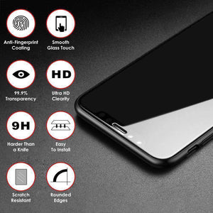 AMZER Kristal Tempered Glass HD Edge2Edge Protector for iPhone X/ iPhone Xs - Clear - fommystore