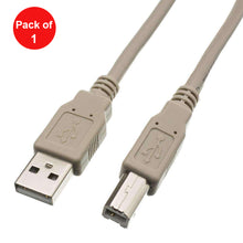Load image into Gallery viewer, USB 2.0 Type A Male to Type B Male Printer/Device Cable - Beige - fommystore