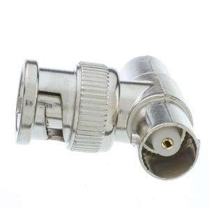 BNC T-Connector, BNC Male to Dual BNC Female - fommystore