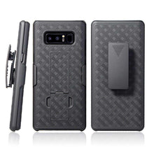 Load image into Gallery viewer, AMZER Shellster Hard Case  Belt Clip Holster for Samsung Galaxy Note8 - Black - fommystore