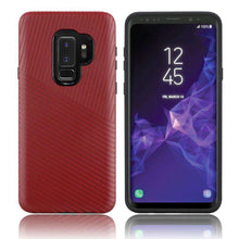 Load image into Gallery viewer, Textured Embossed Lines Hybrid TPU Case for Samsung Galaxy S9 Plus