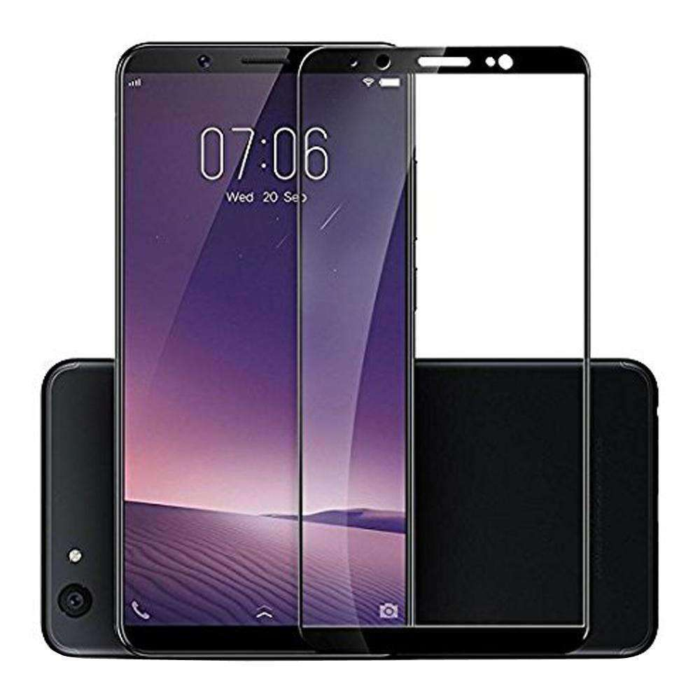 AMZER Kristal Tempered Glass HD Screen Protector for Vivo V7 - Black - fommystore