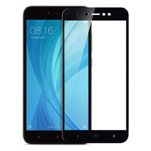 AMZER Kristal Tempered Glass HD Screen Protector for Redmi Y1 Lite - Black - fommystore