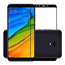 Load image into Gallery viewer, AMZER Kristal 9H Edge2Edge Tempered Glass for Xiaomi Redmi Note 5 - Black - fommystore