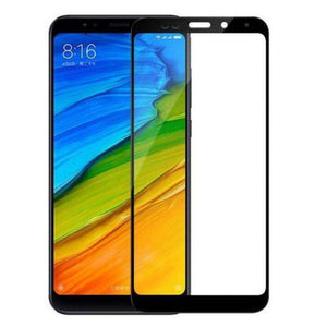AMZER Kristal 9H Edge2Edge Tempered Glass for Xiaomi Redmi Note 5 - Black - fommystore