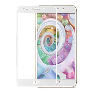 AMZER Kristal Tempered Glass HD Screen Protector for OPPO F1s - White - fommystore
