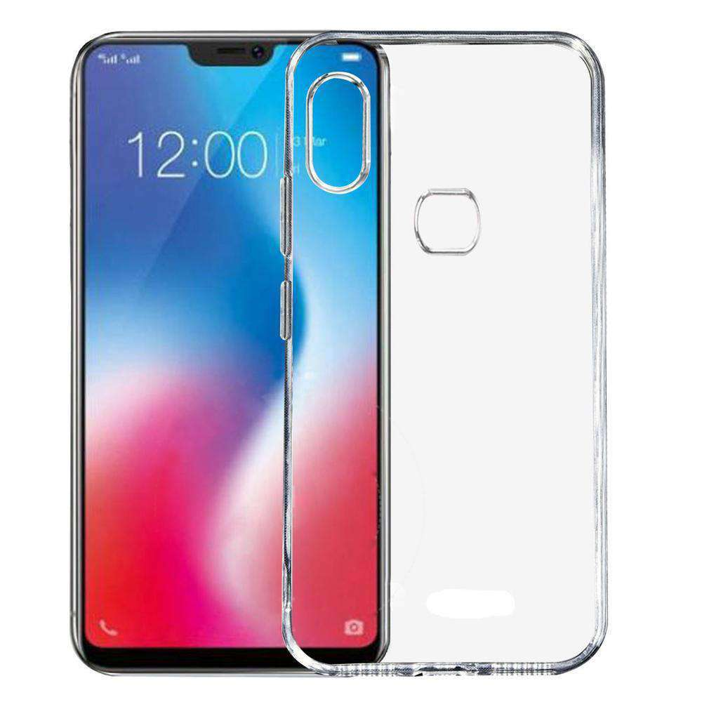 AMZER Premium Flex TPU Skin Cover - Clear for Vivo V9 - fommystore