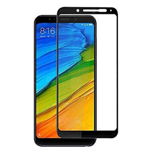 AMZER Kristal Tempered Glass HD Screen Protector for Redmi Note 5 Pro - Black - fommystore