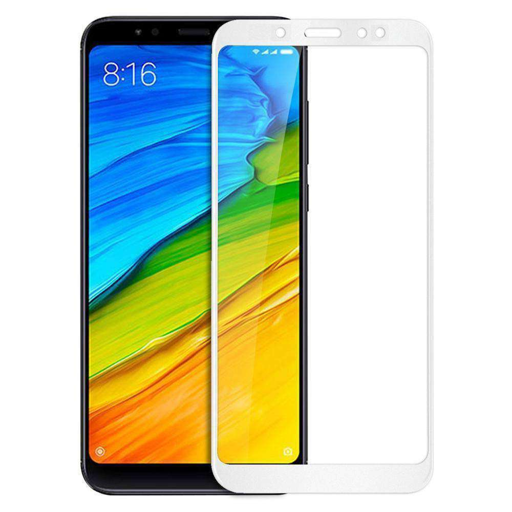 AMZER Kristal Tempered Glass HD Screen Protector for Redmi Note 5 Pro - White - fommystore