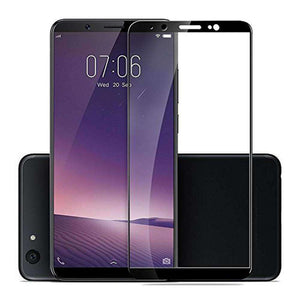 AMZER Kristal Tempered Glass HD Screen Protector for Vivo V7 Plus - Black - fommystore