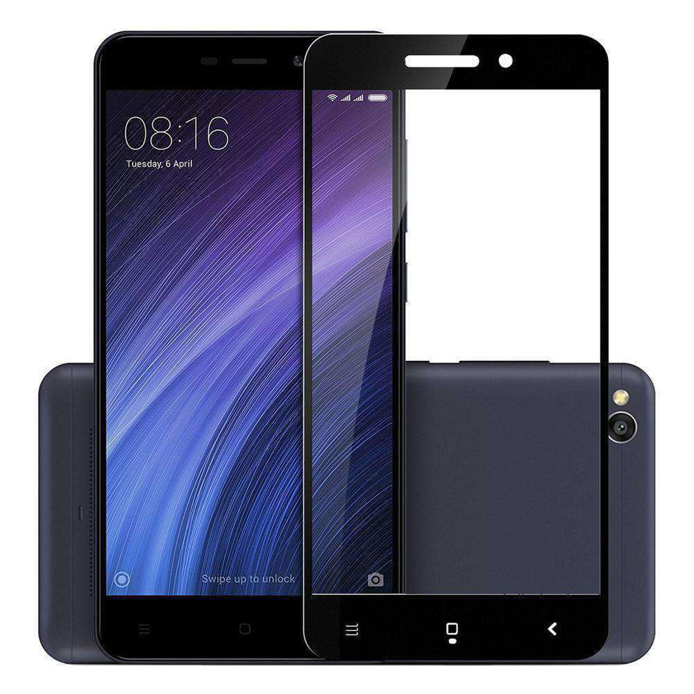 AMZER Kristal Tempered Glass HD Screen Protector for Xiaomi Redmi 4a - Black - fommystore