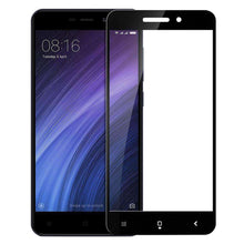 Load image into Gallery viewer, AMZER Kristal Tempered Glass HD Screen Protector for Xiaomi Redmi 4a - Black - fommystore