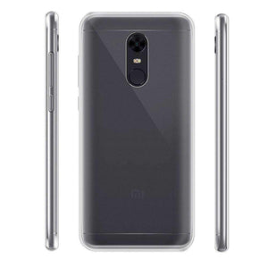 AMZER Premium Flex TPU Skin Cover - Clear for Xiaomi Redmi 5 - fommystore
