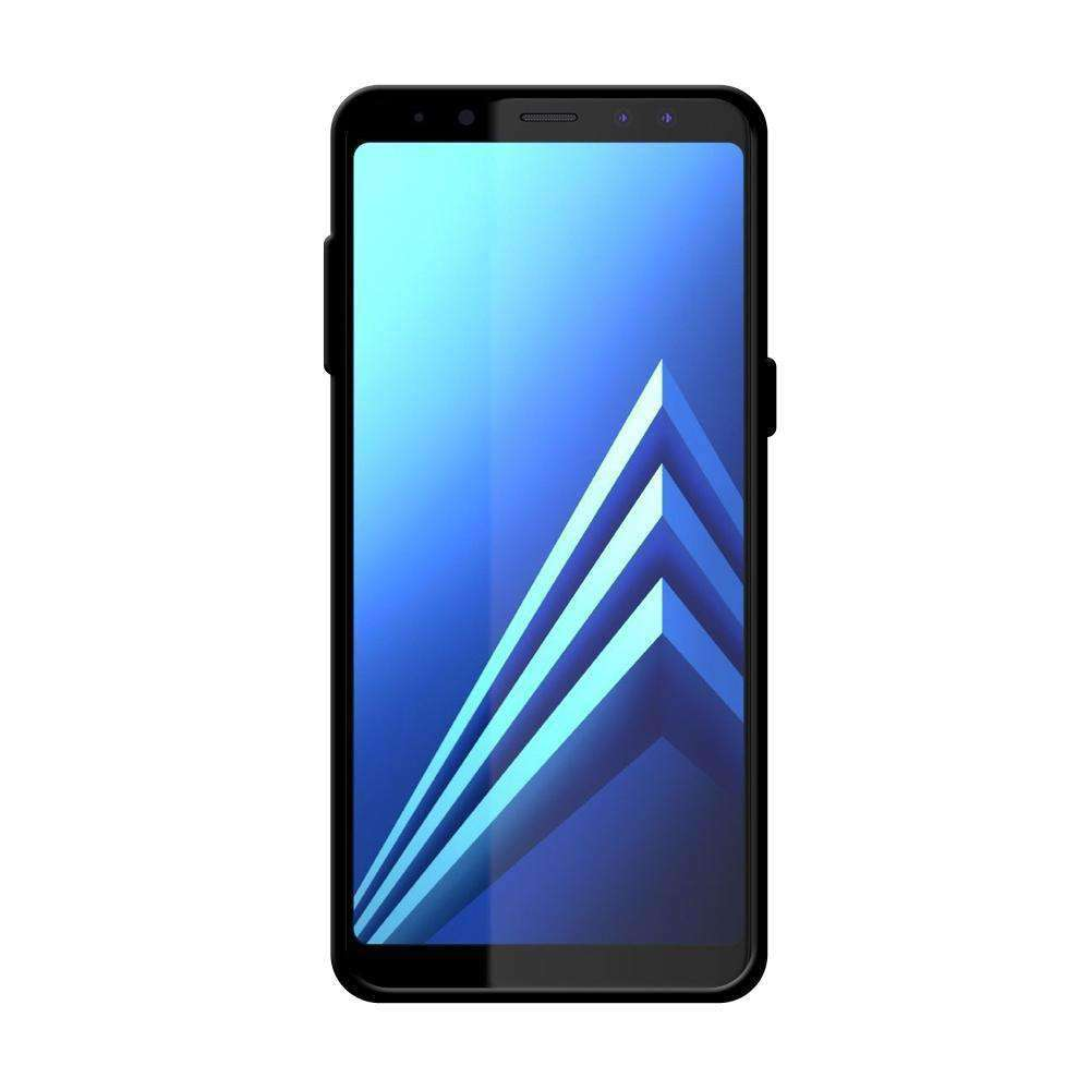 AMZER Pudding Soft TPU Skin Case for Samsung Galaxy A8 2018 - Black - fommystore