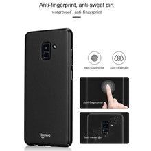 Load image into Gallery viewer, Soft TPU Skin Case for Samsung Galaxy A8 Plus 2018 - Black - fommystore