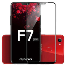 Load image into Gallery viewer, AMZER Kristal Tempered Glass HD Screen Protector for OPPO F7 - Black - fommystore