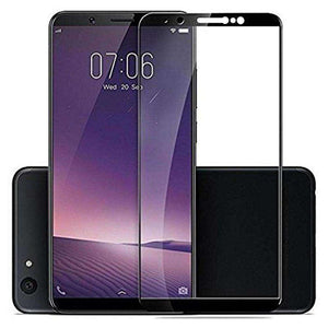 AMZER Kristal 9H Tempered Glass Edge2Edge Protector for Vivo Y71 - Black - fommystore