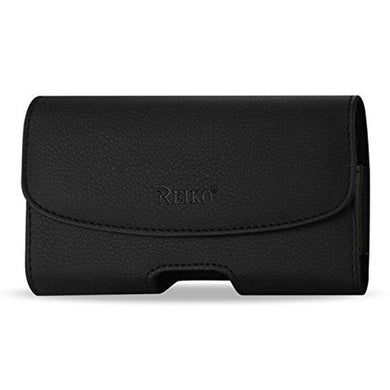 Reiko Large Size Leather Pouch Holster Clip for iPhone 6 Plus - fommystore