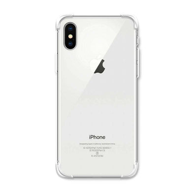 AMZER Pudding TPU Soft Skin X Protection Case for iPhone X/ iPhone Xs - Crystal Clear - fommystore