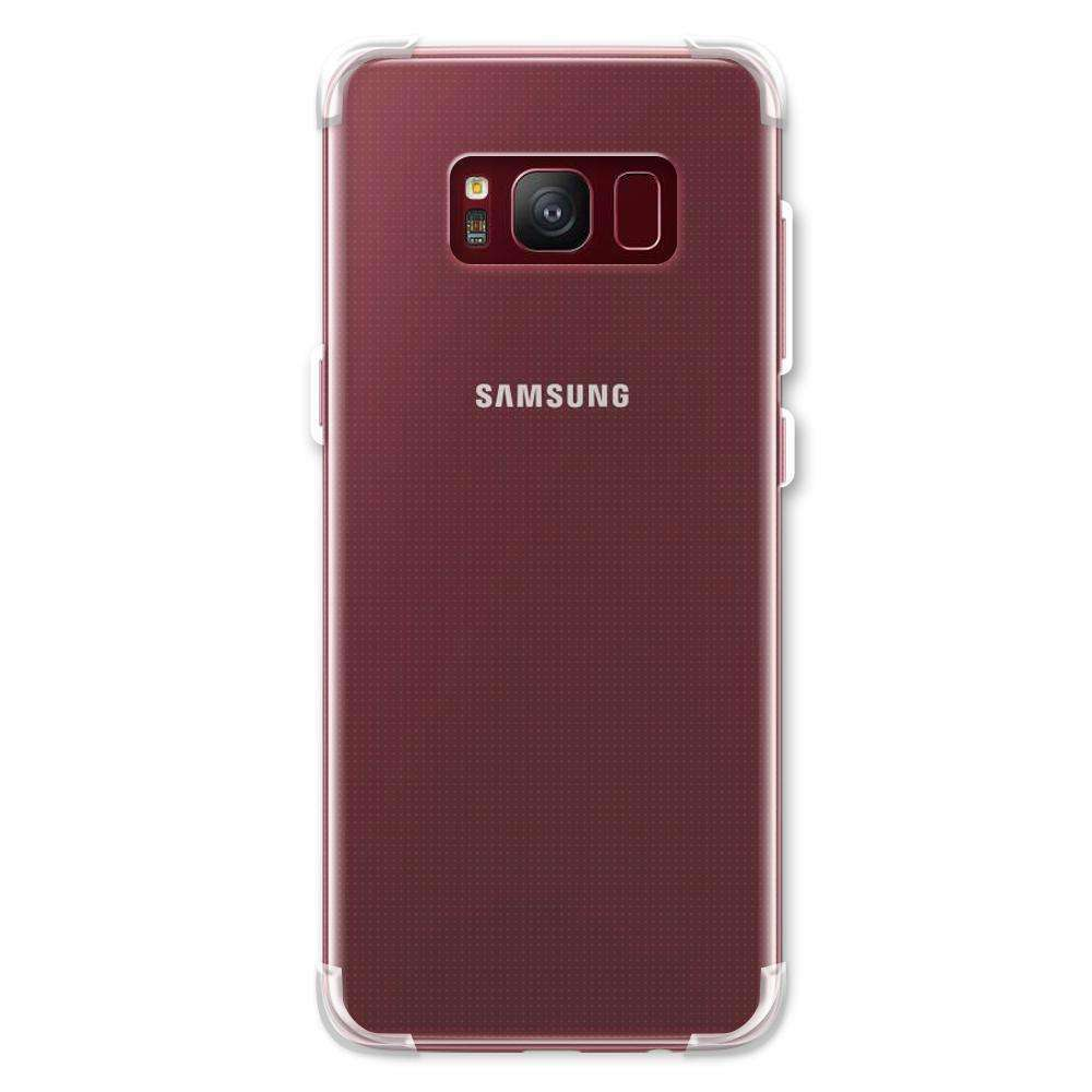 AMZER Pudding TPU Soft Skin X Protection Case for Samsung Galaxy S8 - Clear - fommystore