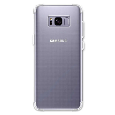 AMZER Pudding TPU Soft Skin X Protection Case for Samsung Galaxy S8 Plus - Clear - fommystore