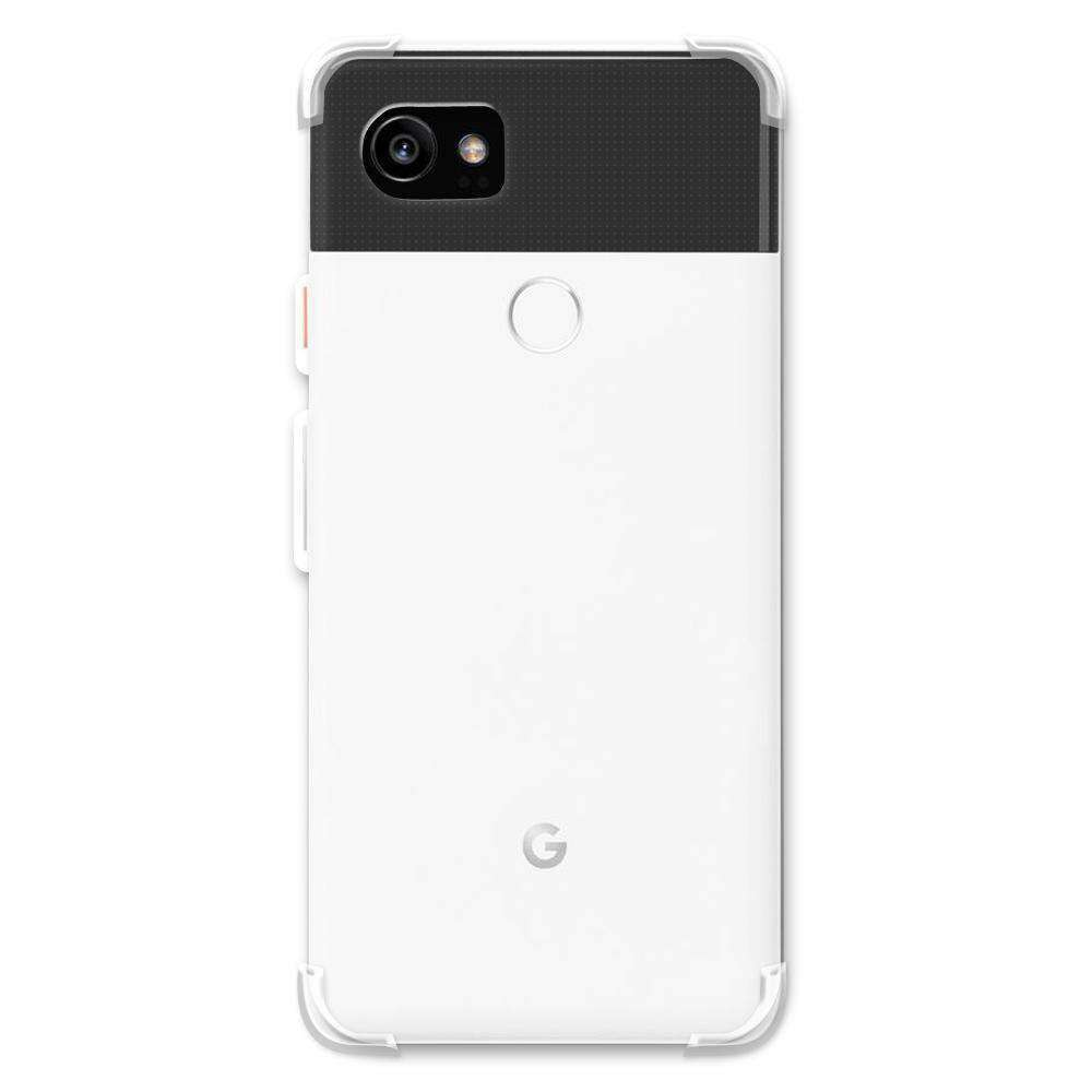 AMZER Pudding TPU Soft Skin X Protection Case for Google Pixel 2 XL - Clear - fommystore