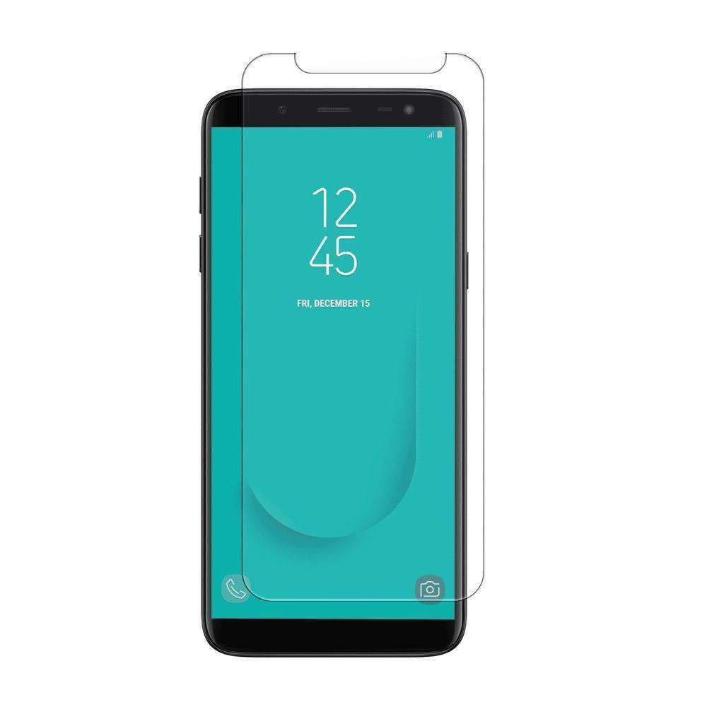 AMZER Kristal Tempered Glass HD Screen Protector for Samsung Galaxy J6 - Clear - fommystore