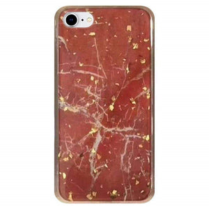 Slim Hybrid Marble Design Glitter TPU Case for iPhone 7/8, iPhone SE 2020