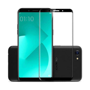 AMZER Kristal Tempered Glass HD Screen Protector for OPPO A83 - Black - fommystore
