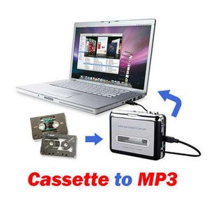 Tape to PC Super USB Cassette to MP3 Converter Capture Audio Music Player - fommystore